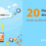 20 Plataformas para descargar vídeos gratis en Alta Resolución