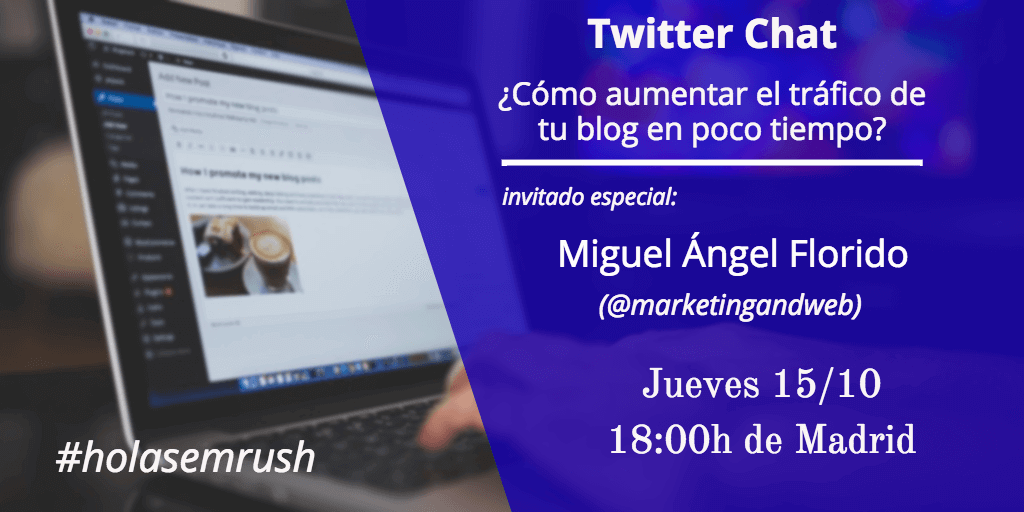 twitter chat holasemrush