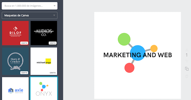 Página para hacer logo gratis