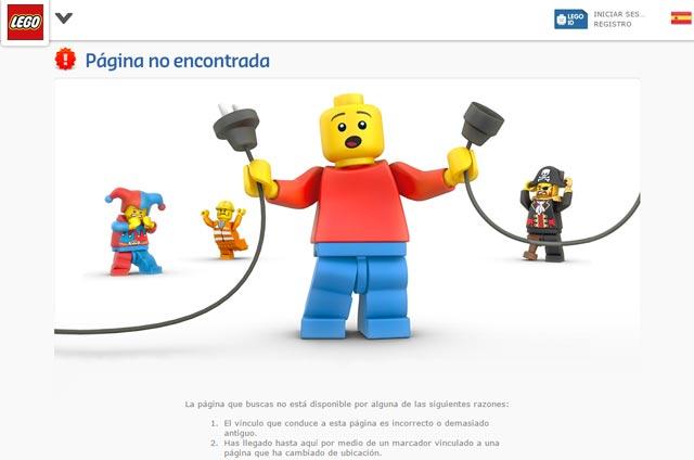 error 404 lego