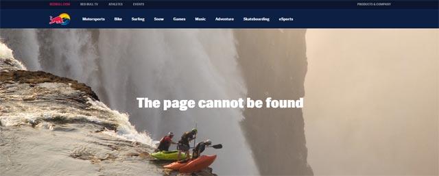 error 404 redbull