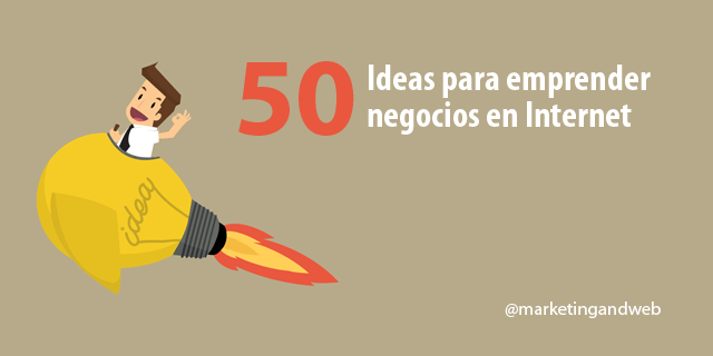 ideas para emprender en internet