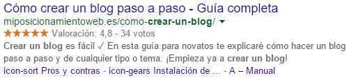 serp crear un blog