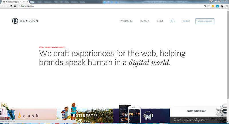 diseño web hover