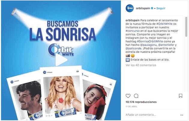ejemplo campaña instagram