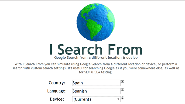 isearch from