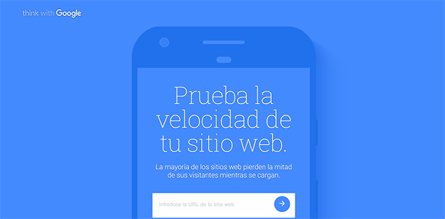 page speed movil