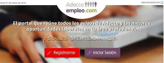 adecco empleo argentina