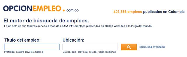 opcion empleo colombia