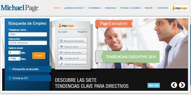 pagina empleo michael page