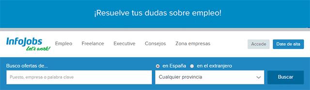 portal de empleo infojobs