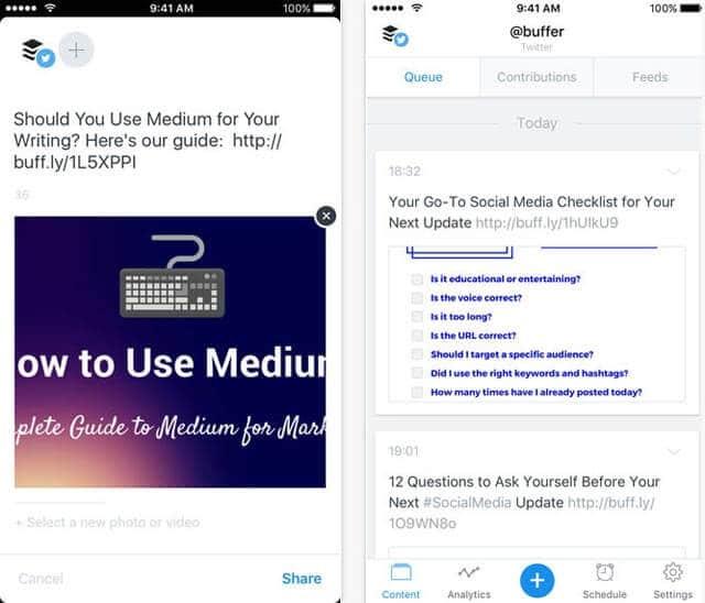 app buffer iphone