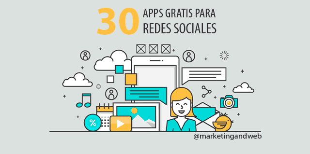 30 Mejores Apps Gratis para Redes Sociales para iPhone y Android en 2016