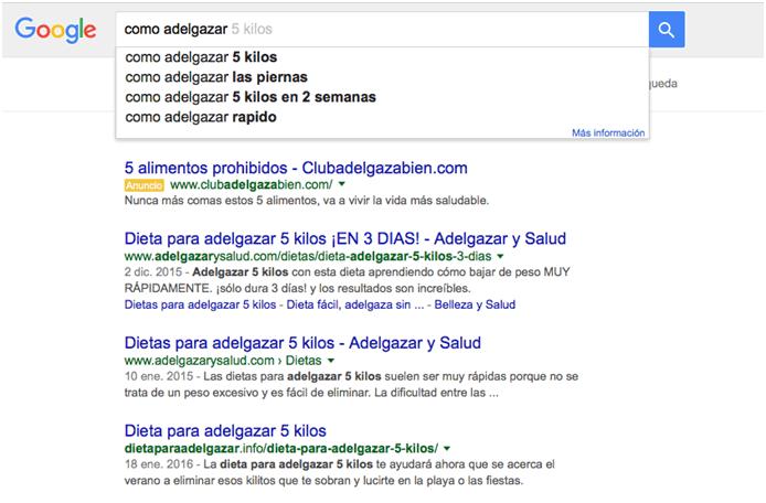 buscar keyword google