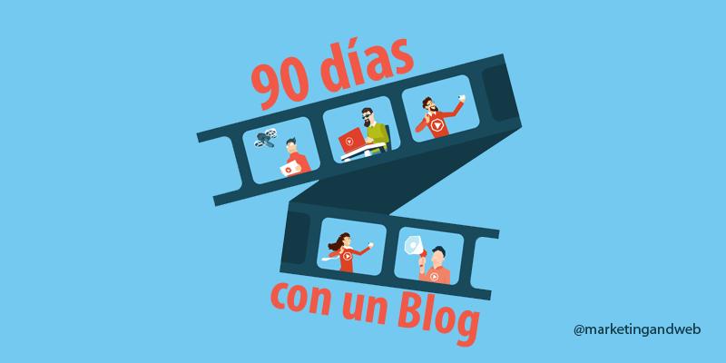 hacer un blog 90 dias