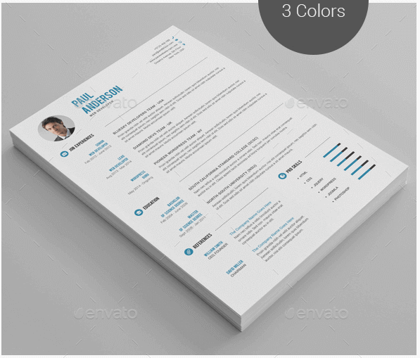 clean-resume-plantilla-cv