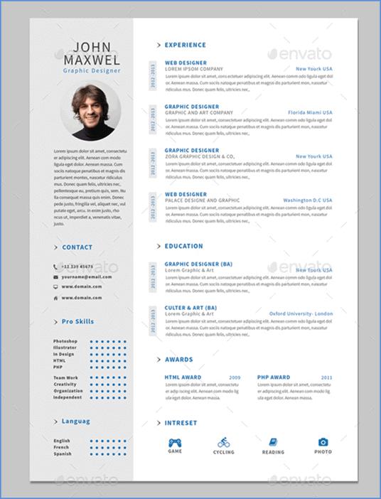50 Mejores Plantillas de Curriculum Vitae Gratis para crear tu mejor CV
