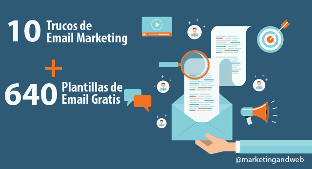 trucos email marketing plantillas email gratis