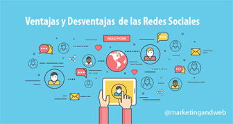 ventajas desventajas redes sociales
