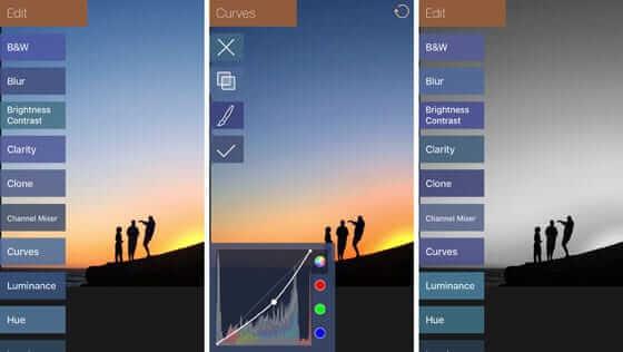 mejores apps iphone editar imagenes filterstom