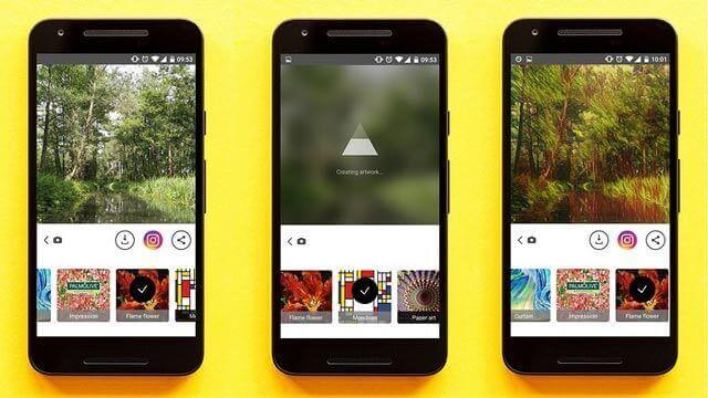 prisma app edicion imagenes android
