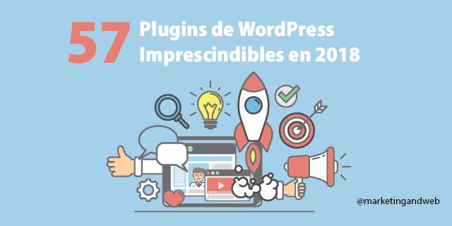 57 Mejores Plugins de WordPress gratuitos y pago en 2018