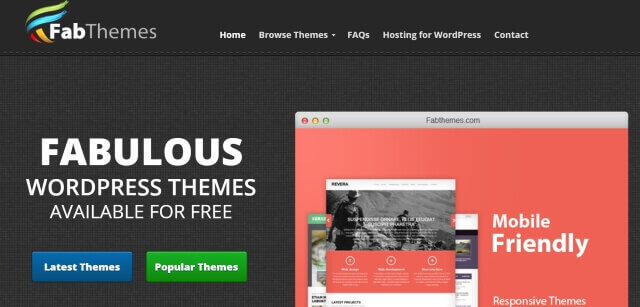 fab themes para wordpress