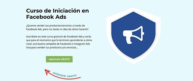 curso iniciacion facebook ads