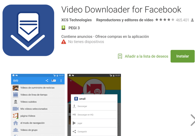 video downloader facebook