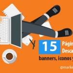 15 Páginas Para Descargar Banners Iconos Y Vectores Gratis