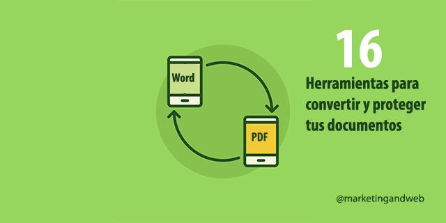 herramientas convertir word a pdf