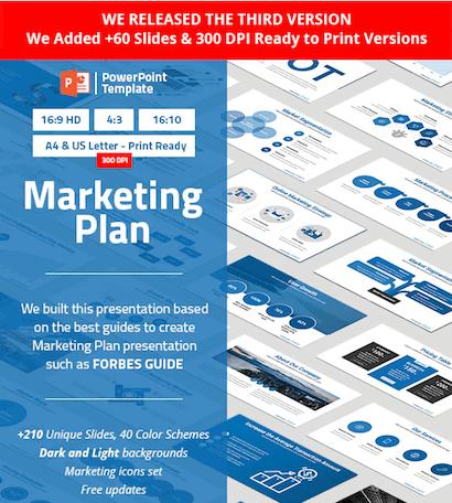 Plantilla PowerPoint Plan de Marketing