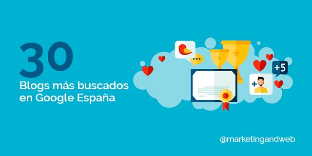Blogs más buscados en Google España