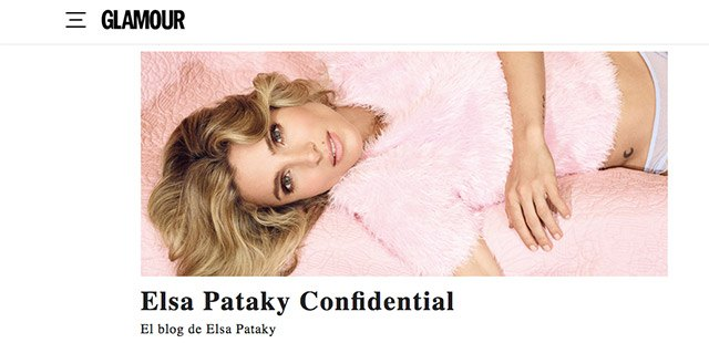 el blog de elsa pataky