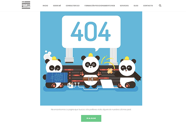 Ejemplo de error 404 Rafa Sospedra