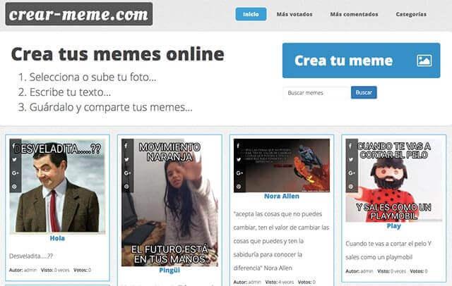 crear meme