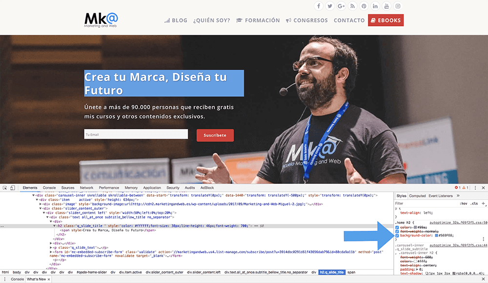 Modificar plantilla de WordPress con CSS