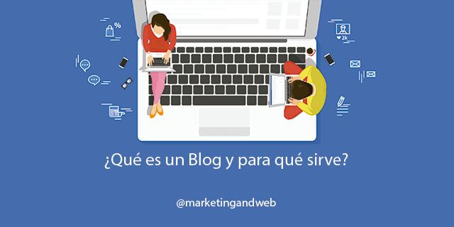qué es un blog y para qué sirve
