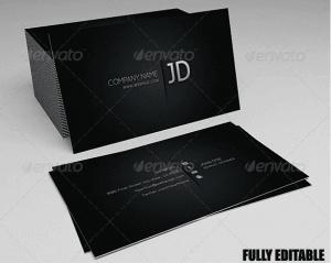 30 plantillas de diseño de tarjetas de presentación originales y