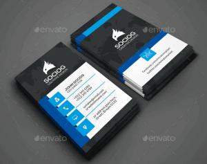 65448fb5ec025 30 Plantillas de diseño de Tarjetas de Presentación originales y ...