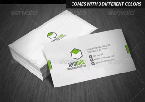 descarga plantilla corporate business card