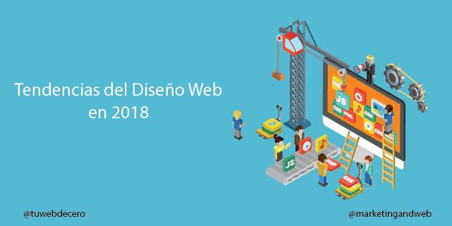 15 tendencias en diseño web en 2018 + Cuentas de diseñadores a seguir