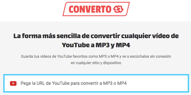 descargar programa convertidor de video youtube a mp3