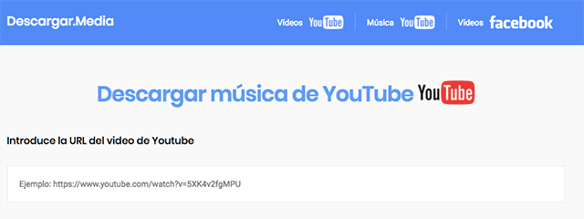 descargar música youtube