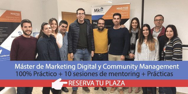 máster de marketing Digital