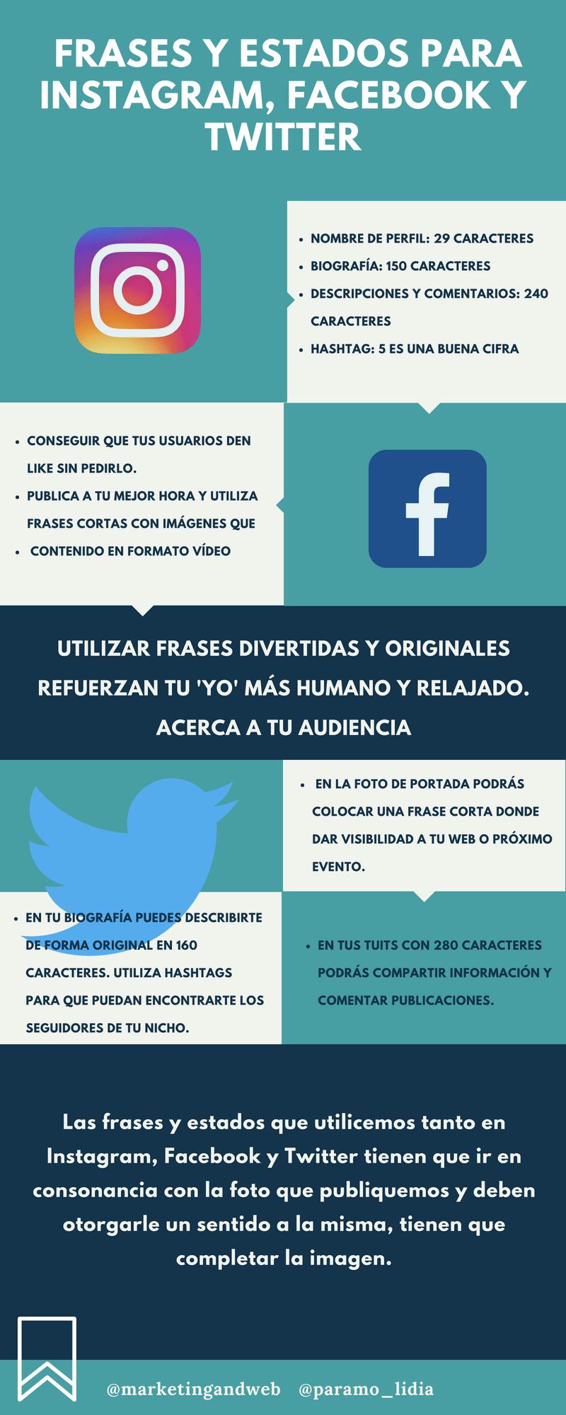 100 Estados Y Frases Para Instagram Facebook Y Twitter