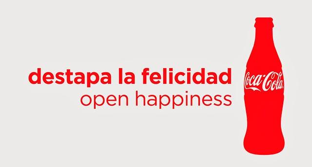 felicidad eslogan coca cola