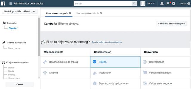 crear cuenta de facebook ads parte 2