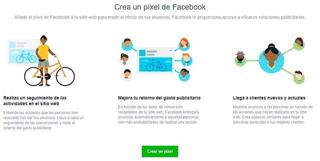 crear pixel facebook