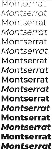 google fonts montserrat